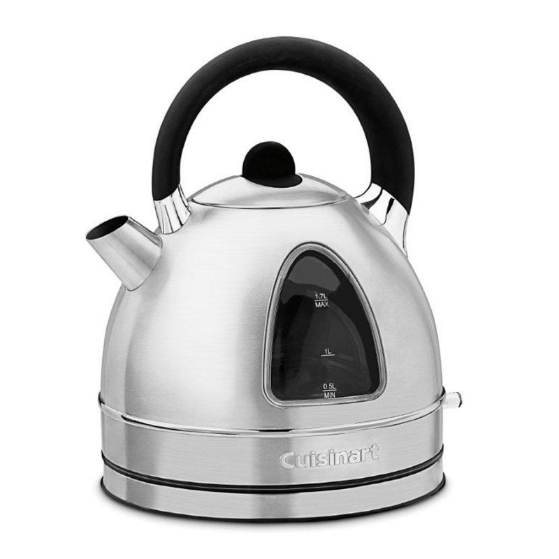 Cuisinart Cordless Stainless Steel Electric Kettle, Grey thumbnail